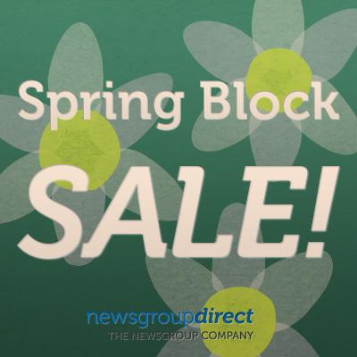 Spring Block Sale
