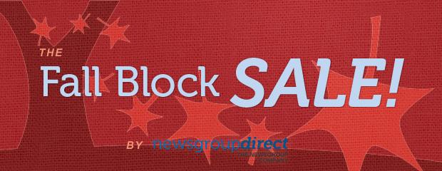 Fall Block Sale