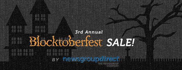 Third Annual Blocktoberfest Usenet Sale