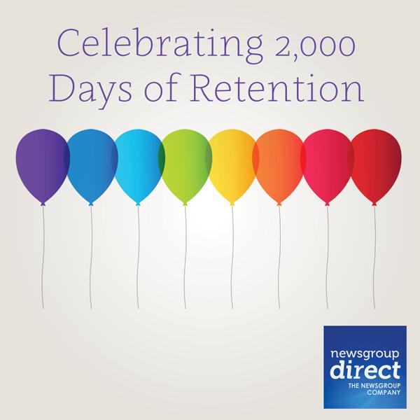 2000 days binary retention