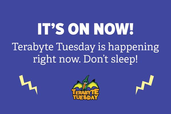 Terabyte Tuesday
