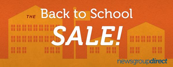 Back to School Usenet Sale