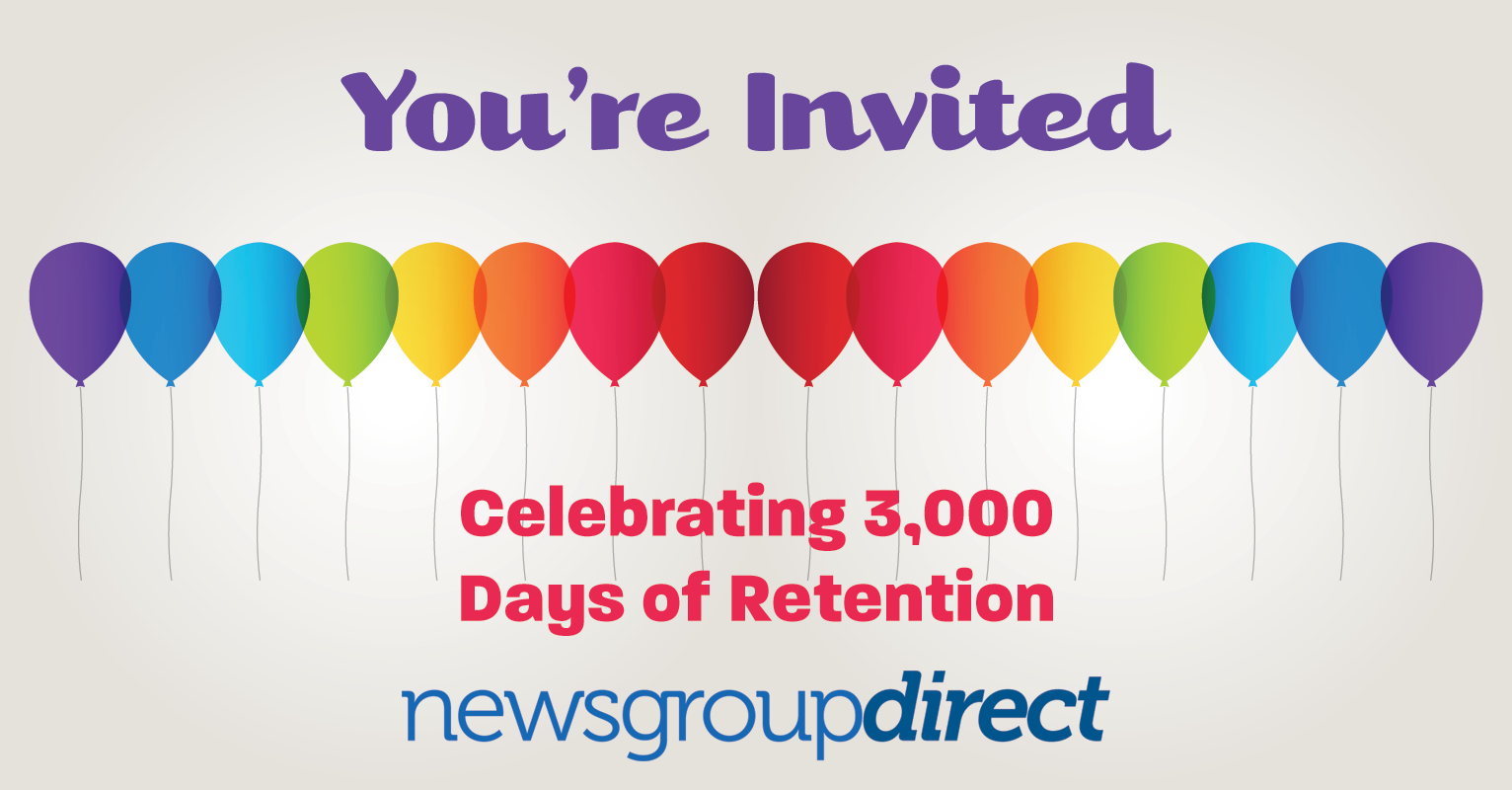 3000 days of binary retention